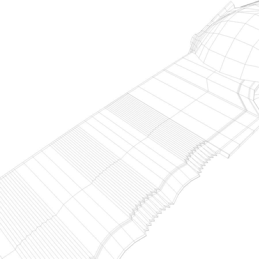 kniv royalty-free 3d model - Preview no. 6