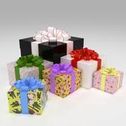 Pudełka na prezenty 3d model