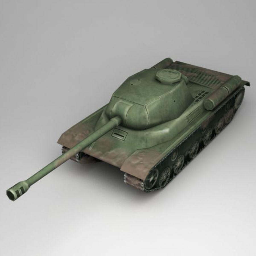 坦克低聚 royalty-free 3d model - Preview no. 1