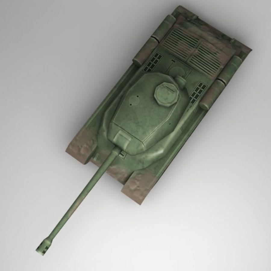 坦克低聚 royalty-free 3d model - Preview no. 6