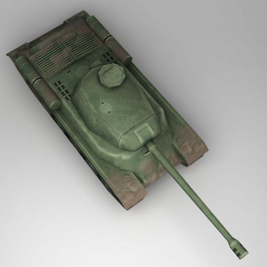 坦克低聚 royalty-free 3d model - Preview no. 3
