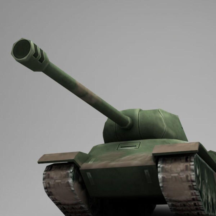 坦克低聚 royalty-free 3d model - Preview no. 5