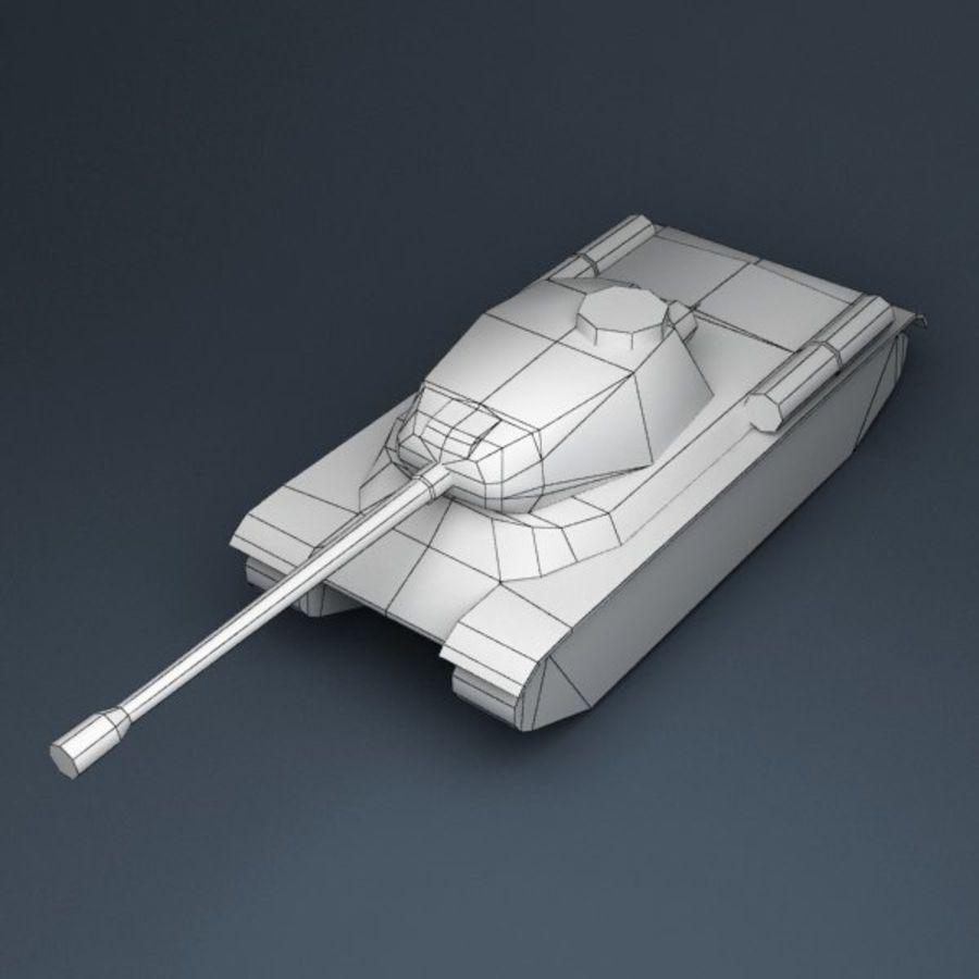 坦克低聚 royalty-free 3d model - Preview no. 7