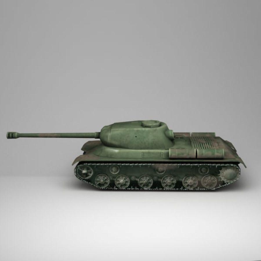 坦克低聚 royalty-free 3d model - Preview no. 4