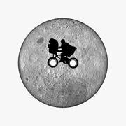 Kledingknop Moon ET 3d model