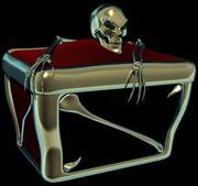 보물 상자 3d model