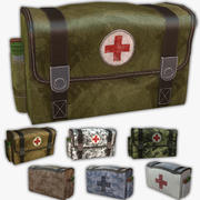 Army Medical Kit 3d model