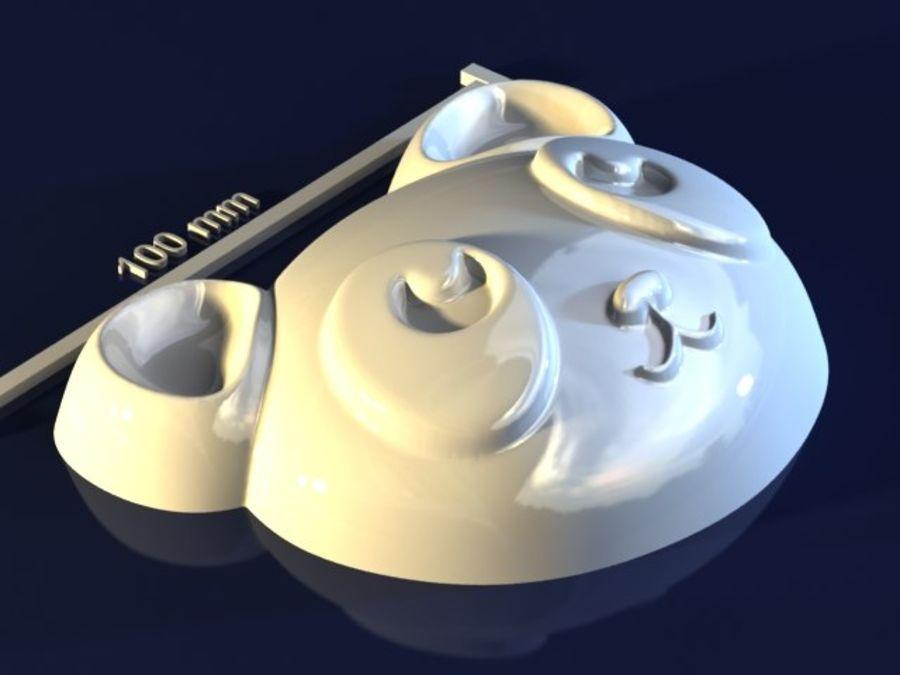 熊猫 royalty-free 3d model - Preview no. 2