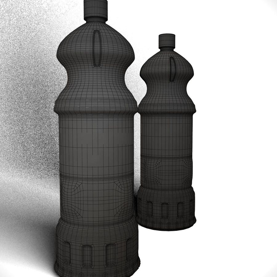 Oil Bottle royalty-free 3d model - Preview no. 8