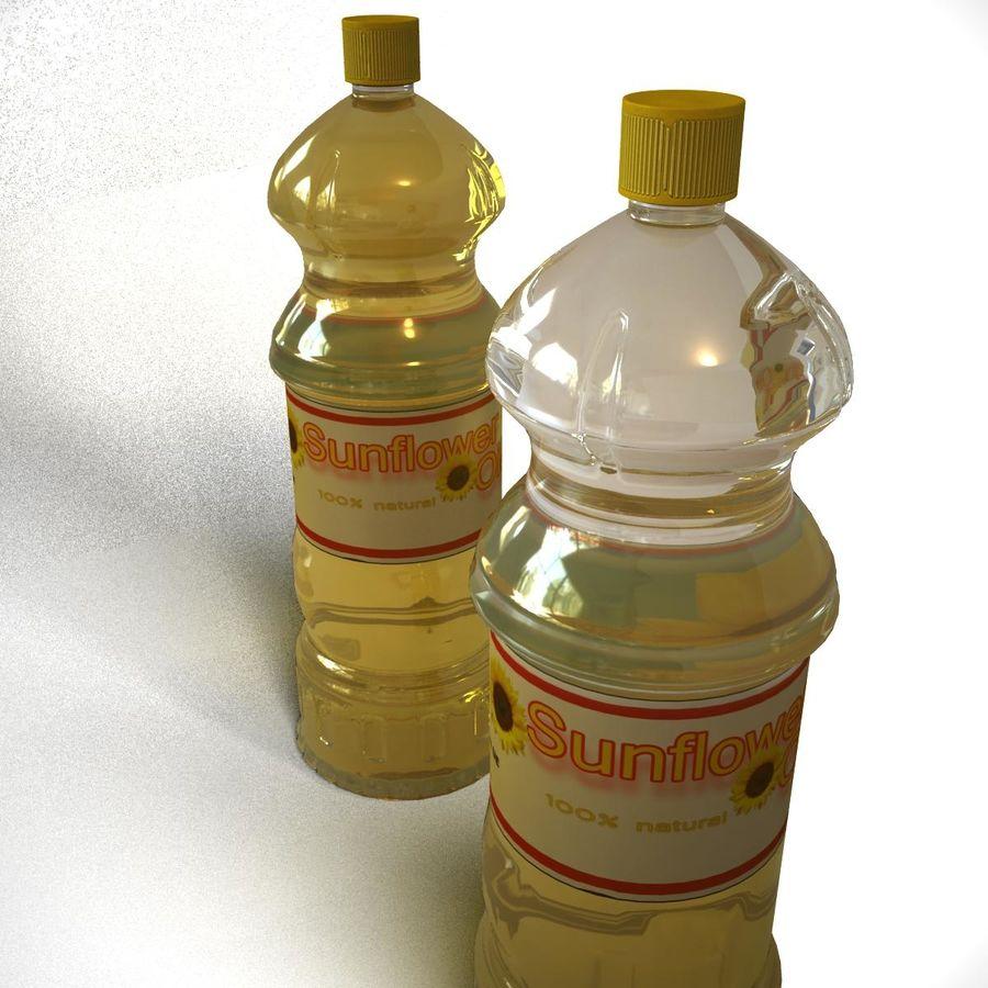 Oil Bottle royalty-free 3d model - Preview no. 5