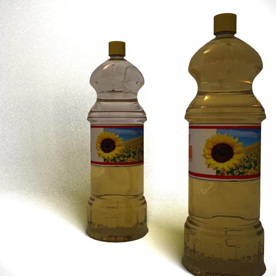 Oil Bottle royalty-free 3d model - Preview no. 2