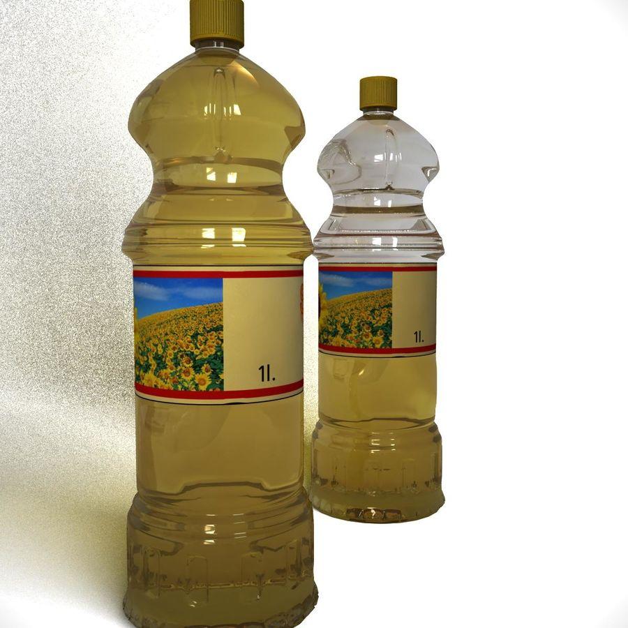 Oil Bottle royalty-free 3d model - Preview no. 3