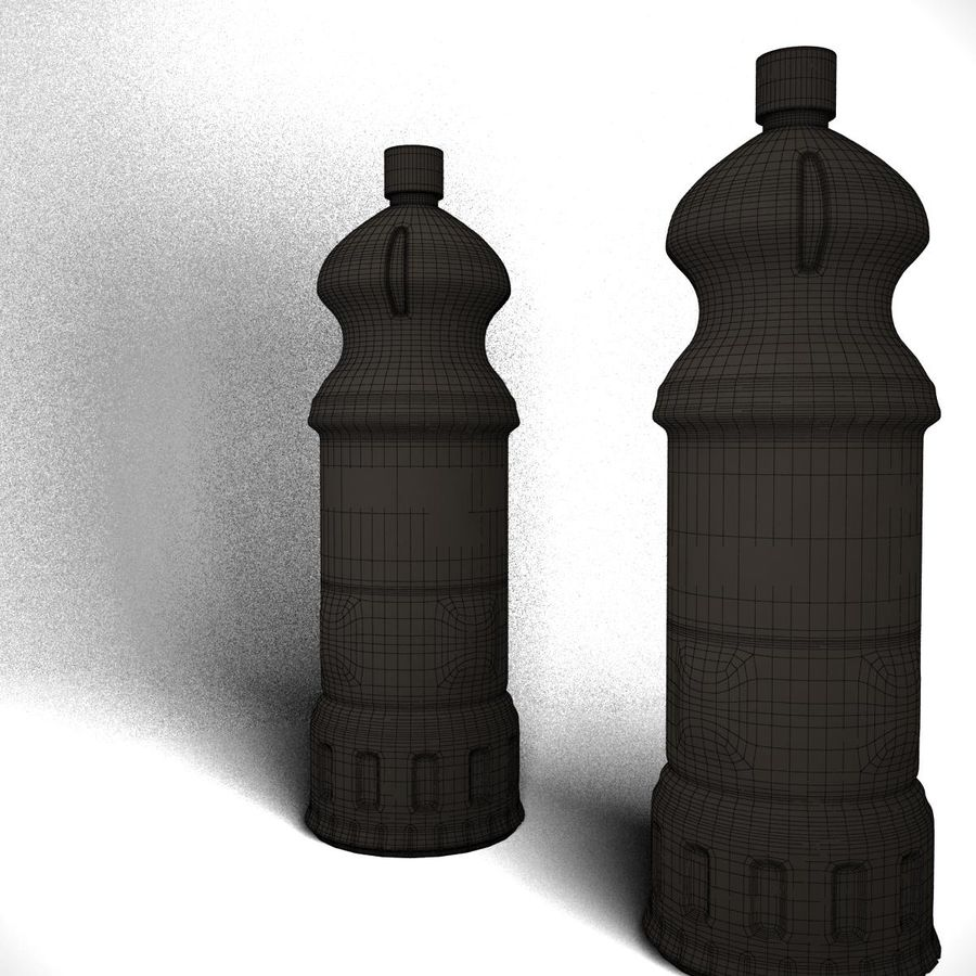 Oil Bottle royalty-free 3d model - Preview no. 7