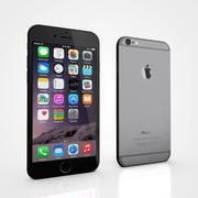 Apple iPhone 6 및 6S 스페이스 그레이 3d model