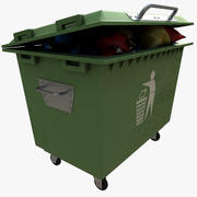 garbage container 2 3d model