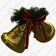 Cloches De Noël 3d model
