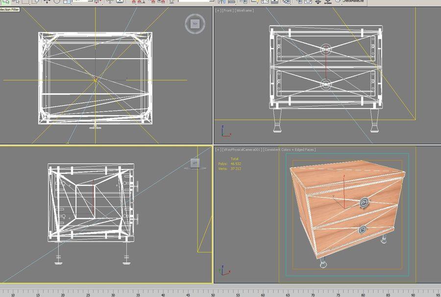 Ev Mobilyaları 04 royalty-free 3d model - Preview no. 11