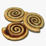 Cinnamon Swirl 3d model