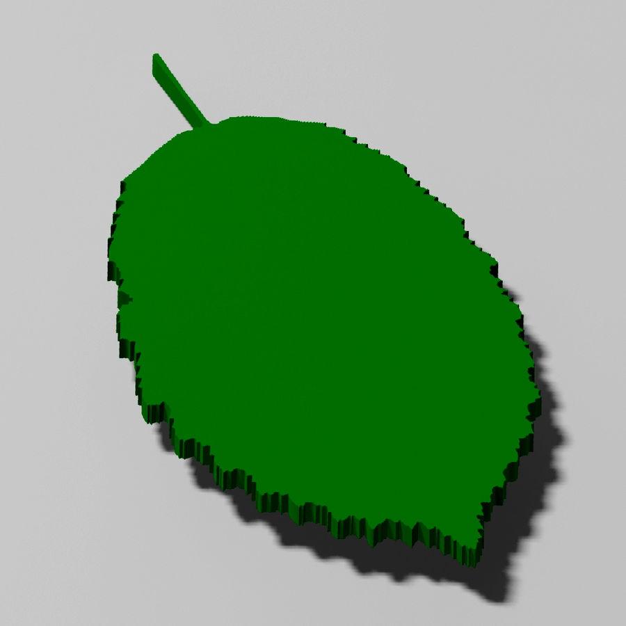 鹅耳autumn秋叶(Carpinus betulus) royalty-free 3d model - Preview no. 17