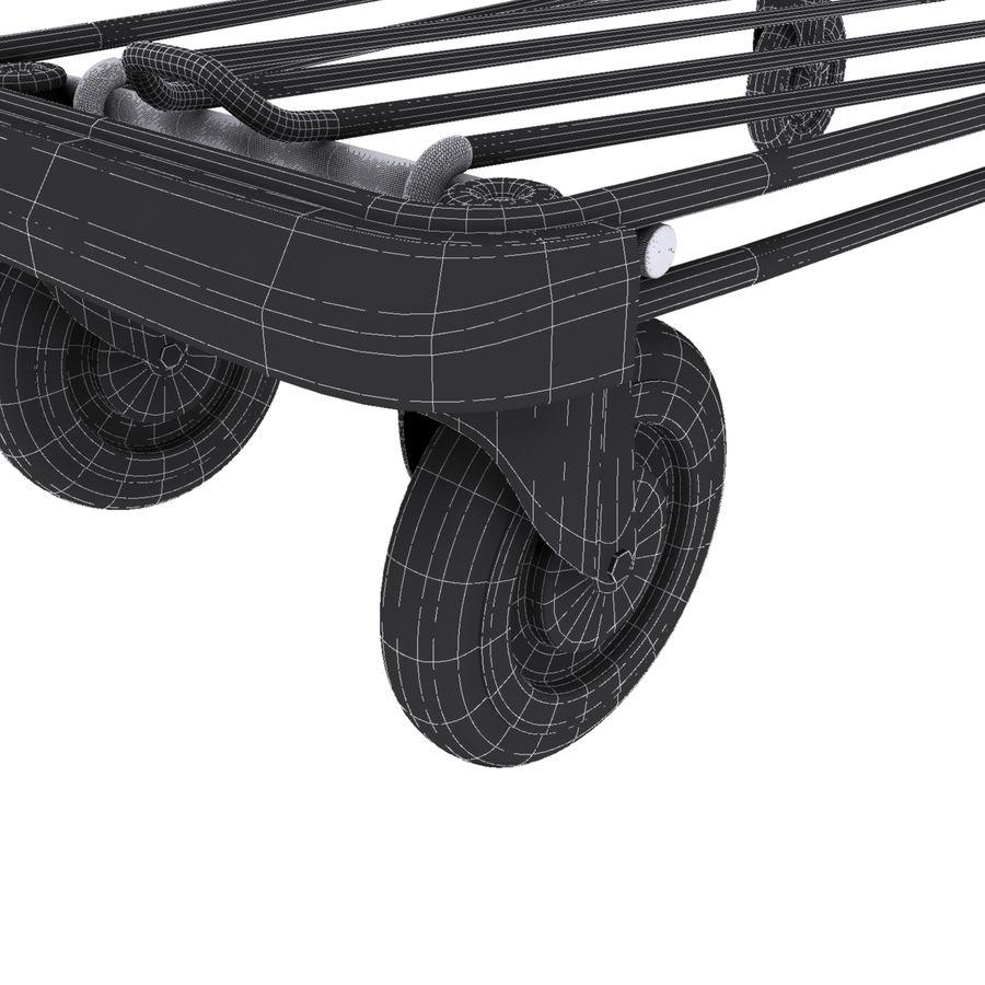 Kundvagn royalty-free 3d model - Preview no. 3