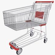 쇼핑 카트 3d model