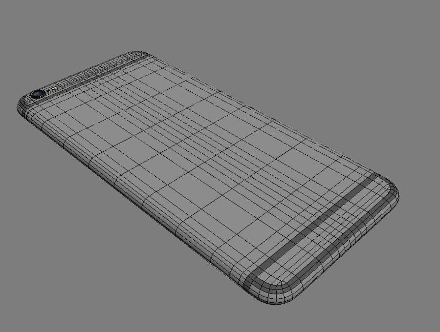 苹果手机6 royalty-free 3d model - Preview no. 9