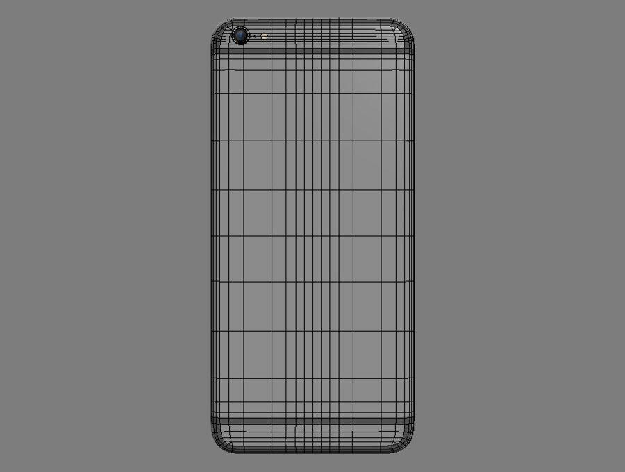 苹果手机6 royalty-free 3d model - Preview no. 8