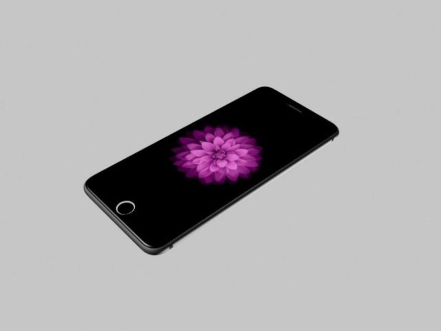 苹果手机6 royalty-free 3d model - Preview no. 5