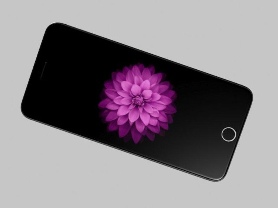 苹果手机6 royalty-free 3d model - Preview no. 3