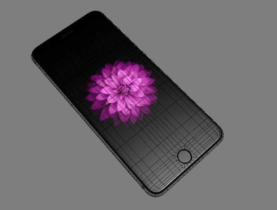 苹果手机6 royalty-free 3d model - Preview no. 1