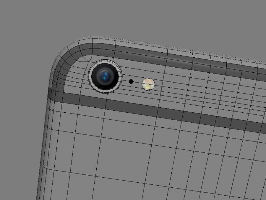苹果手机6 royalty-free 3d model - Preview no. 4
