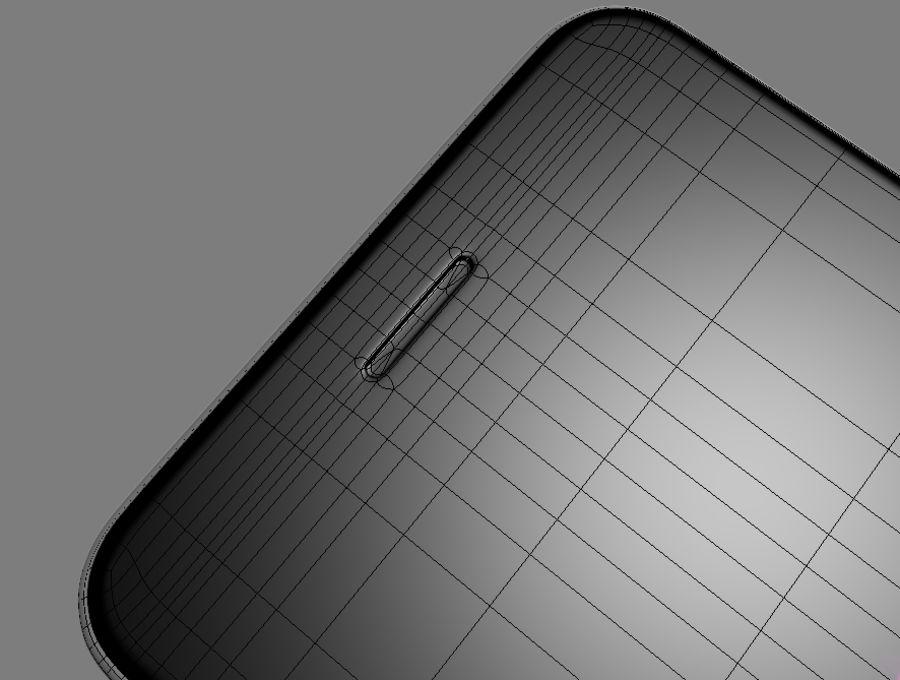 苹果手机6 royalty-free 3d model - Preview no. 6