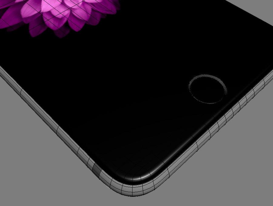 苹果手机6 royalty-free 3d model - Preview no. 10