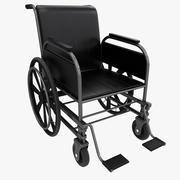 wheelchair 3d model