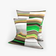 斯德哥尔摩绿色宜家枕头 3d model