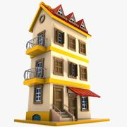 Cartoon House (14) 3d model