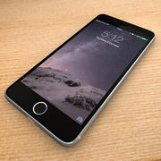 iPhone 6 espaço cinza 3d model