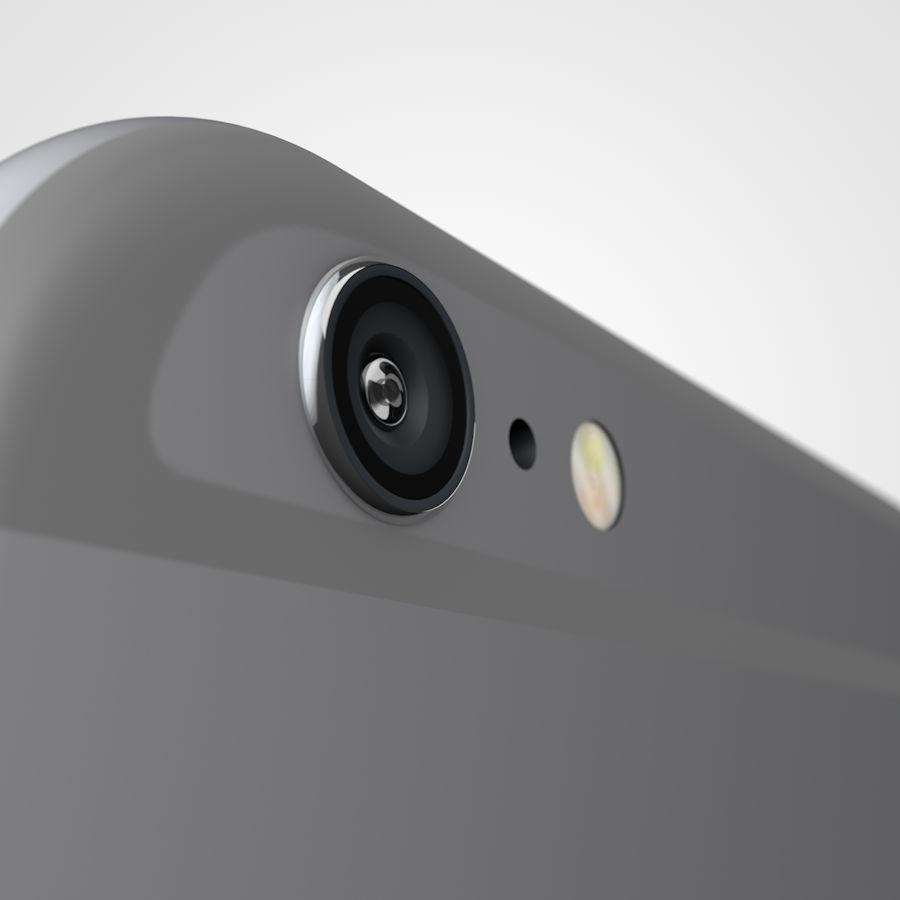 Apple iPhone 6 및 6S 블랙 화이트 골드 royalty-free 3d model - Preview no. 10