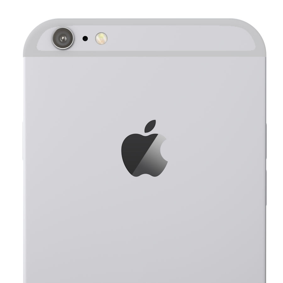 Apple iPhone 6 및 6S 블랙 화이트 골드 royalty-free 3d model - Preview no. 13