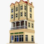 Cartoon House (18) 3d model