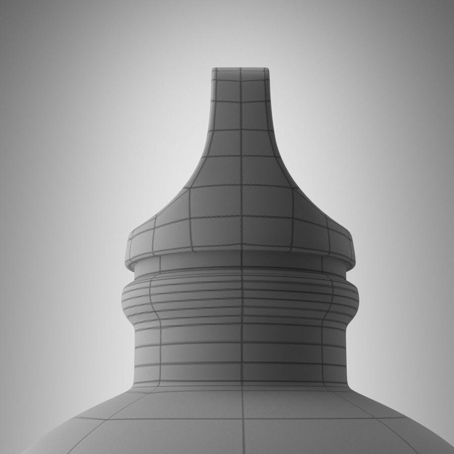 Aluminium Bottle royalty-free 3d model - Preview no. 6