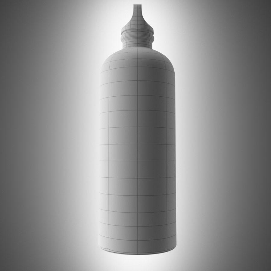 Aluminium Bottle royalty-free 3d model - Preview no. 5