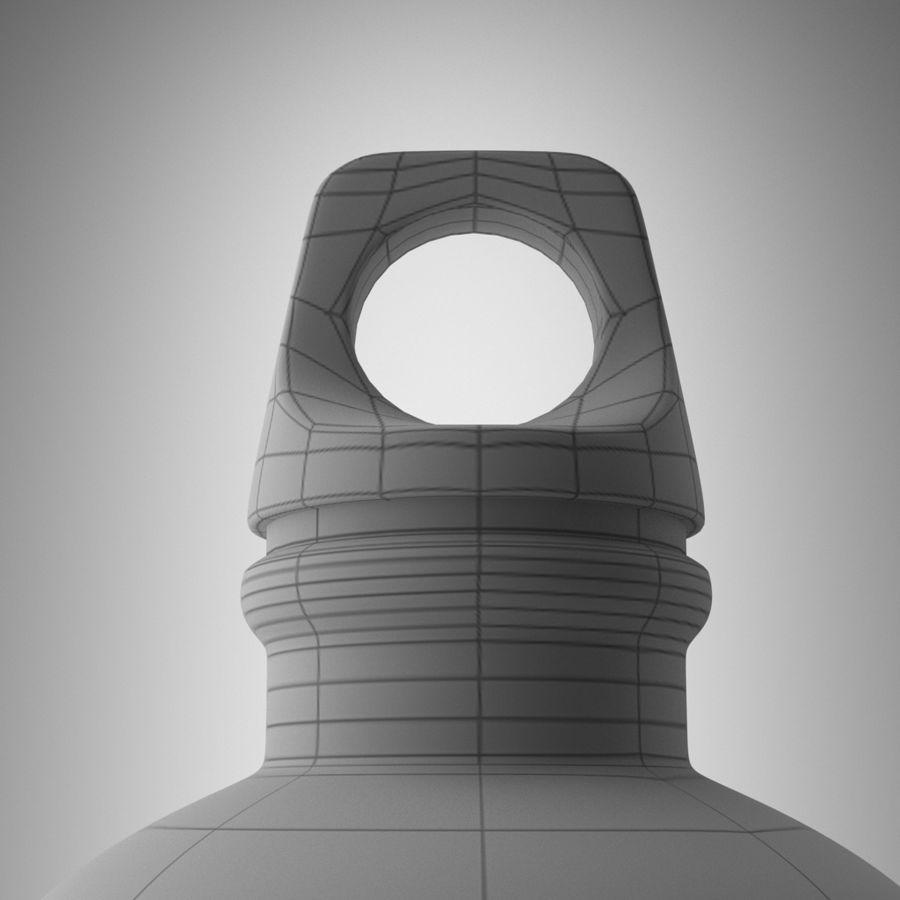 Aluminium Bottle royalty-free 3d model - Preview no. 7