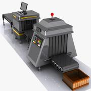 Macchina di produzione / sicurezza dei cartoni animati 3d model