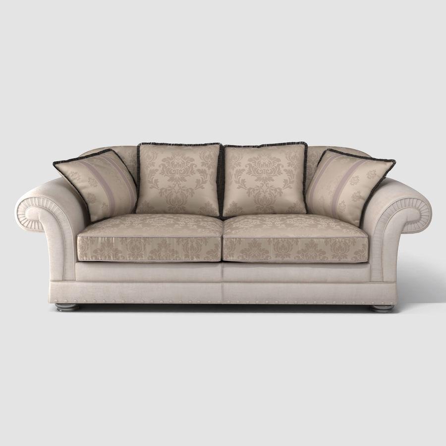 Pleasant Sofa Dania 3D Model 15 Max Obj Fbx Free3D Theyellowbook Wood Chair Design Ideas Theyellowbookinfo
