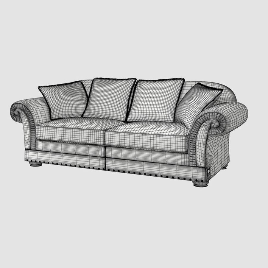 Wondrous Sofa Dania 3D Model 15 Max Obj Fbx Free3D Theyellowbook Wood Chair Design Ideas Theyellowbookinfo