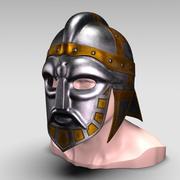 Viking Boss Helmet V2 3d model