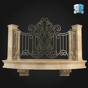 Balcony 008 3d model