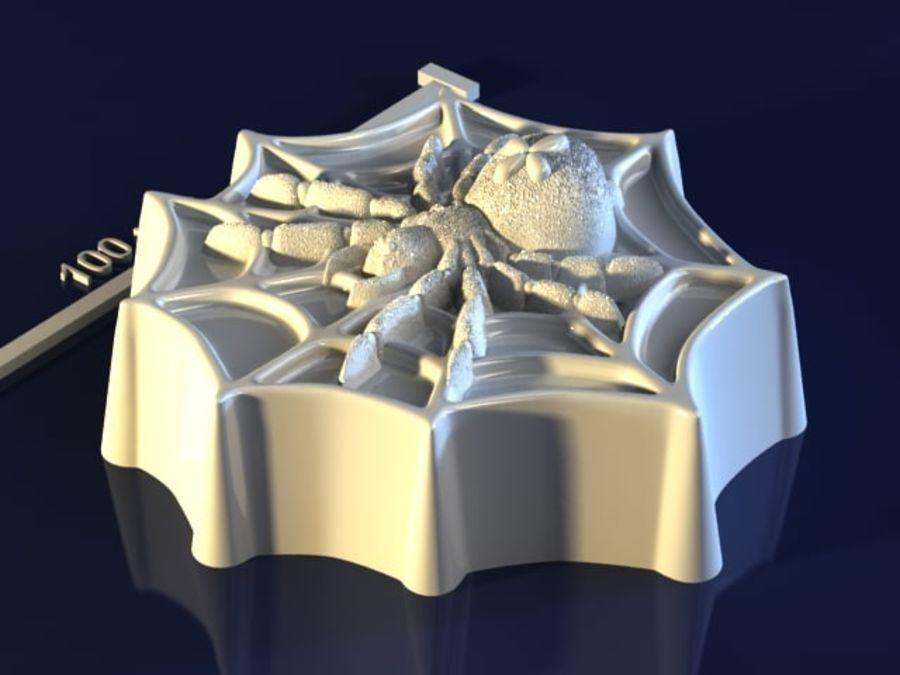 거미 royalty-free 3d model - Preview no. 2