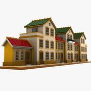 Мультяшный Дом (15) 3d model